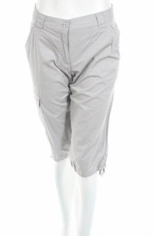 Дамски къс панталон Oxylane, Размер M, Цвят Сив, Памук, Цена 3,00лв.