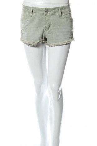 Дамски къс панталон Refuge, Размер L, Цвят Зелен, 98% памук, 2% еластан, Цена 19,69лв.
