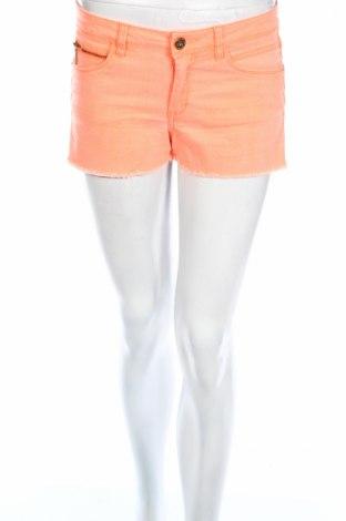 Дамски къс панталон Tally Weijl, Размер S, Цвят Оранжев, 98% памук, 2% еластан, Цена 12,26лв.