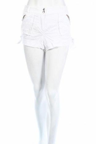 Дамски къс панталон Topshop, Размер S, Цвят Бял, Лиосел, Цена 11,76лв.