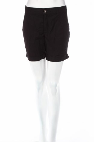 Дамски къс панталон Yessica, Размер S, Цвят Черен, Памук, Цена 12,60лв.
