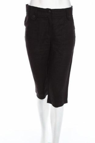 Дамски панталон Armor-Lux, Размер M, Цвят Черен, 100% лен, Цена 3,14лв.