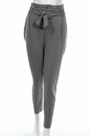 Дамски панталон Only, Размер XL, Цвят Сив, 63% вискоза, 32% полиестер, 5% еластан, Цена 36,54лв.