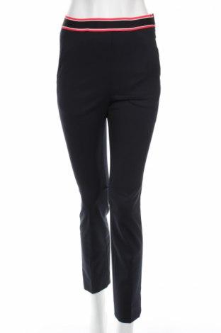 Pantaloni de femei Sandro, Mărime XS, Culoare Albastru, 47% poliester, 43% poliamidă, 10% elastan, Preț 85,68 Lei