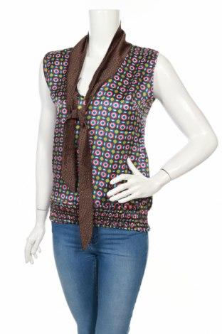 Γυναικείο αμάνικο μπλουζάκι Amelie & Amelie, Μέγεθος S, Χρώμα Πολύχρωμο, 100% πολυεστέρας, Τιμή 1,95€