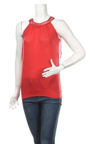 Γυναικείο αμάνικο μπλουζάκι Jacob, Μέγεθος XS, Χρώμα Κόκκινο, Lyocell, Τιμή 3,41€