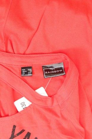 Γυναικείο αμάνικο μπλουζάκι Rainbow, Μέγεθος S, Χρώμα Κόκκινο, 50% βαμβάκι, 50% μοντάλ, Τιμή 13,92€