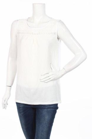 Γυναικείο αμάνικο μπλουζάκι Street One, Μέγεθος L, Χρώμα Λευκό, Τιμή 2,76€