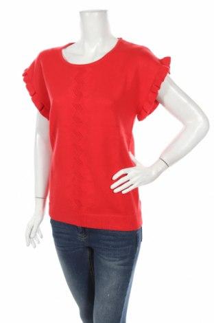 Дамски пуловер Bodyflirt, Размер M, Цвят Червен, 50% вискоза, 26% полиамид, 24% полиестер, Цена 8,10лв.