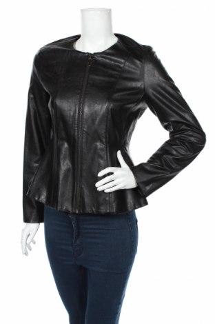 Γυναικείο δερμάτινο μπουφάν Montego, Μέγεθος S, Χρώμα Μαύρο, Δερματίνη, Τιμή 12,37€