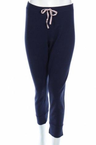 Дамско спортно долнище Gap, Размер XL, Цвят Син, 44% памук, 39% модал, 12% полиестер, 5% еластан, Цена 28,80лв.
