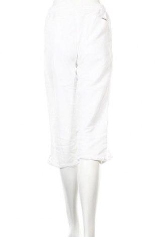 Дамско спортно долнище Masita, Размер S, Цвят Бял, Полиестер, Цена 3,36лв.