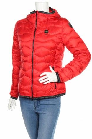 Γυναικείο μπουφάν Blauer, Μέγεθος L, Χρώμα Κόκκινο, Φτερά και πούπουλα, πολυαμίδη, Τιμή 110,23€