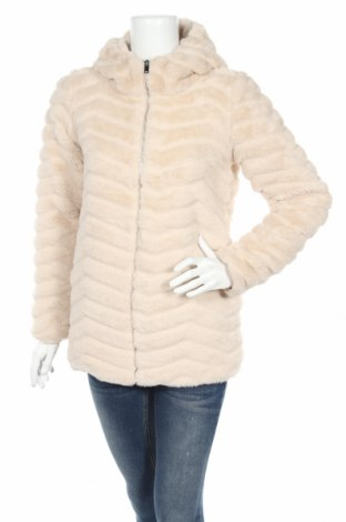 Γυναικείο μπουφάν Jacqueline De Yong, Μέγεθος XS, Χρώμα  Μπέζ, Πολυεστέρας, Τιμή 24,83€