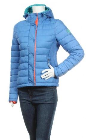 Γυναικείο μπουφάν Superdry, Μέγεθος M, Χρώμα Μπλέ, Πολυαμίδη, Τιμή 51,18€