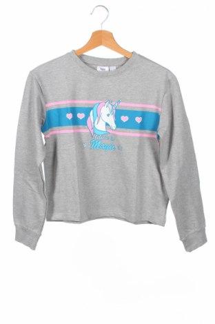 Детска блуза Bpc Bonprix Collection, Размер 11-12y/ 152-158 см, Цвят Сив, 85% памук, 15% полиестер, Цена 24,00лв.