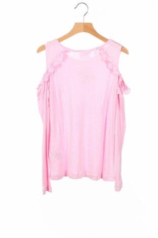 Детска блуза Bpc Bonprix Collection, Размер 9-10y/ 140-146 см, Цвят Розов, Вискоза, Цена 4,80лв.