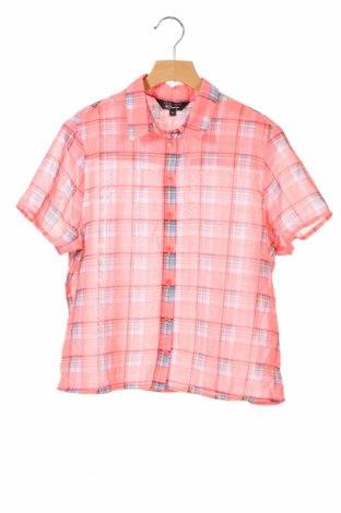 Детска риза New Look, Размер 12-13y/ 158-164 см, Цвят Розов, Полиестер, Цена 3,94лв.