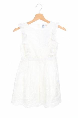Παιδικό φόρεμα Friboo, Μέγεθος 8-9y/ 134-140 εκ., Χρώμα Λευκό, Βαμβάκι, Τιμή 14,84€