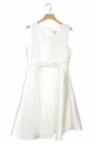 Детска рокля Happy Girls By Eisend, Размер 8-9y/ 134-140 см, Цвят Бял, Полиестер, Цена 43,50лв.