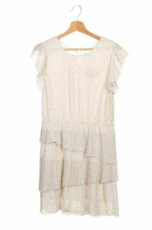 Детска рокля Mayoral, Размер 12-13y/ 158-164 см, Цвят Екрю, Цена 21,40лв.