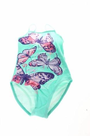 Детски бански Bpc Bonprix Collection, Размер 9-10y/ 140-146 см, Цвят Зелен, 80% полиамид, 20% еластан, Цена 28,56лв.
