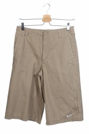 Detské krátke nohavice  Nike, Veľkosť 12-13y/ 158-164 cm, Farba Béžová, Bavlna, Cena  8,66€