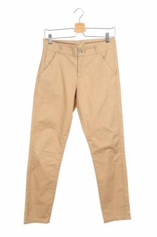 Детски панталон H&M L.o.g.g, Размер 11-12y/ 152-158 см, Цвят Бежов, Памук, Цена 4,50лв.