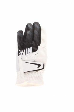 Mănuși de copii Nike, Culoare Alb, 73% poliuretan, poliamidă, piele naturală, poliester, Preț 42,37 Lei