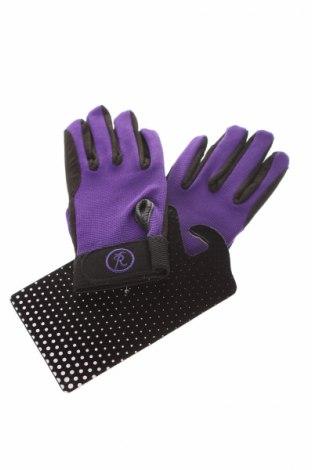 Mănuși de copii Riders Trend, Culoare Mov, Piele ecologică, elastan, Preț 32,84 Lei