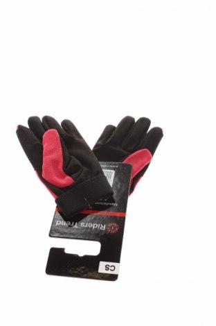 Детски ръкавици Riders Trend, Цвят Червен, Еко кожа, еластан, Цена 19,50лв.