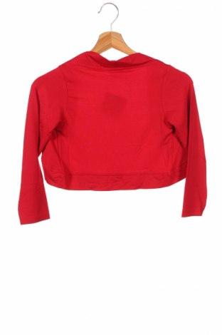Детско болеро Bpc Bonprix Collection, Размер 7-8y/ 128-134 см, Цвят Червен, 95% вискоза, 5% еластан, Цена 5,76лв.