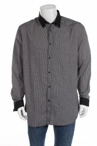Мъжка риза Gil D'auray, Размер XL, Цвят Черен, 65% полиестер, 35% памук, Цена 14,50лв.
