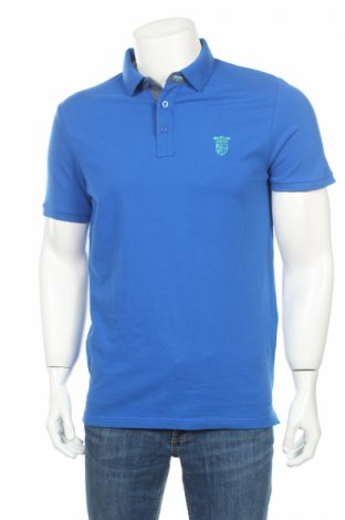 Tricou de bărbați 17 & Co., Mărime L, Culoare Albastru, 95% bumbac, 5% elastan, Preț 39,79 Lei