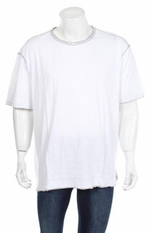 Мъжка тениска Bpc Bonprix Collection, Размер 3XL, Цвят Бял, Памук, Цена 23,12лв.