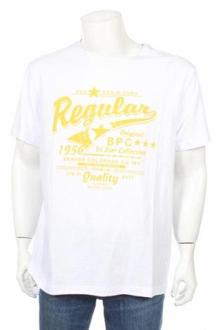 Мъжка тениска Bpc Bonprix Collection, Размер XXL, Цвят Бял, Памук, Цена 23,12лв.