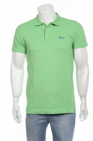 Tricou de bărbați Esprit, Mărime M, Culoare Verde, Bumbac, Preț 47,75 Lei