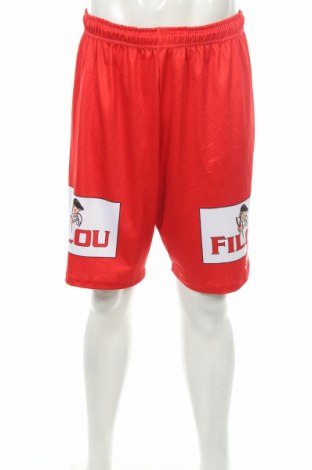 Ανδρικό κοντό παντελόνι Joma, Μέγεθος L, Χρώμα Κόκκινο, Τιμή 2,63€