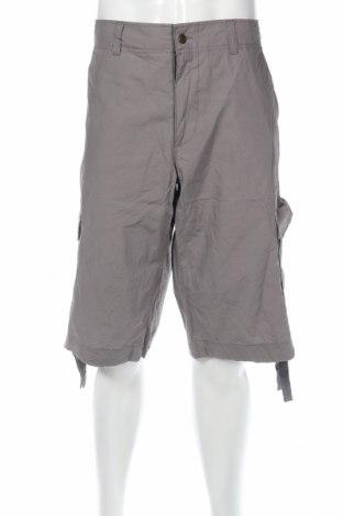 Pantaloni scurți de bărbați Copyright, Mărime XXL, Culoare Gri, Bumbac, Preț 53,71 Lei