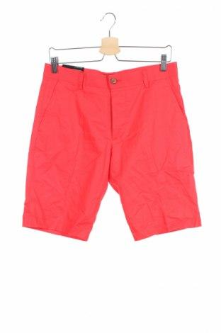 Pantaloni scurți de bărbați H&M, Mărime M, Culoare Roșu, 100% bumbac, Preț 29,84 Lei