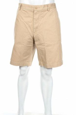 Ανδρικό κοντό παντελόνι Lacoste, Μέγεθος XXL, Χρώμα  Μπέζ, Βαμβάκι, Τιμή 22,27€