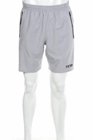 Мъжки къс панталон TCA, Размер M, Цвят Сив, 92% полиестер, 8% еластан, Цена 10,20лв.