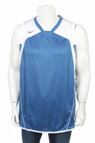 Maiou bărbătesc Nike, Mărime XL, Culoare Albastru, 100% poliester, Preț 46,18 Lei