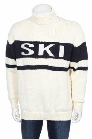 Мъжки пуловер J.Lindeberg, Размер L, Цвят Екрю, 60% мерино, 40% полиестер, Цена 166,32лв.
