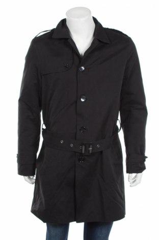 Pánsky prechodný kabát  Kiomi, Veľkosť L, Farba Čierna, 56% bavlna, 37% polyester, 7% polyamide, Cena  22,94€