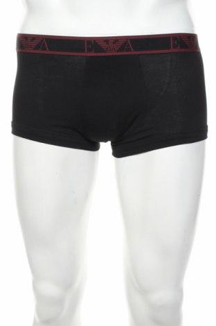 Мъжко бельо Emporio Armani, Размер S, Цвят Черен, 95% памук, 5% еластан, Цена 42,72лв.