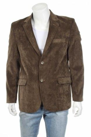 Мъжко сако, Размер L, Цвят Зелен, 80% памук, 20% полиестер, Цена 14,04лв.