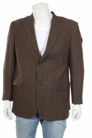 Мъжко сако Carl Gross, Размер L, Цвят Кафяв, 100% вълна, Цена 24,70лв.