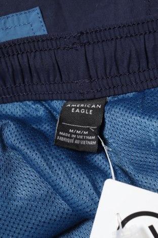 Мъжко спортно долнище American Eagle, Размер M, Цвят Син, 100% полиамид, Цена 29,92лв.