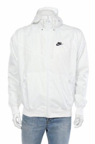 Мъжко спортно яке Nike, Размер S, Цвят Бял, 100% полиестер, Цена 87,72лв.